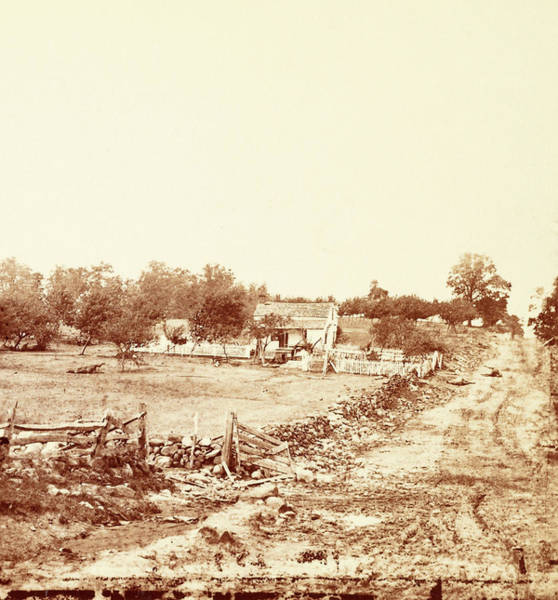 Wall Art - Photograph - General Meades Headquarters At Gettysburg by Litz Collection
