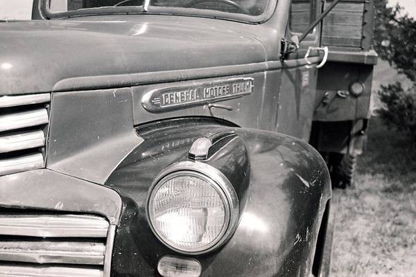 Photograph - General Motors Truck by HW Kateley