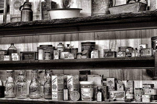 Photograph - General Store Shelves by Olivier Le Queinec
