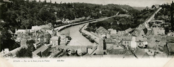 Wall Art - Photograph - General View Of Dinan, France, Showing by Mary Evans Picture Library