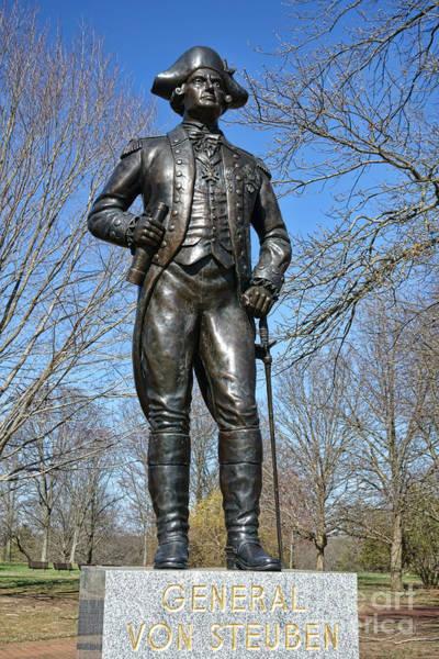 American Revolution Photograph - General Von Steuben by Olivier Le Queinec