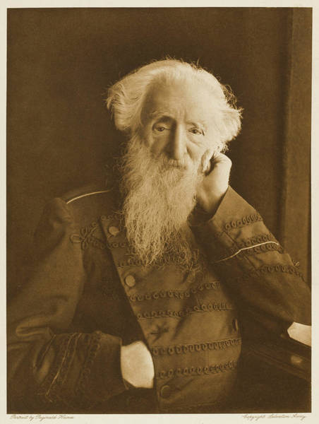William And Mary Photograph - General William Booth  English by Mary Evans Picture Library