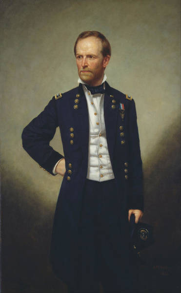 Artistry Painting - General William T Sherman by Mountain Dreams