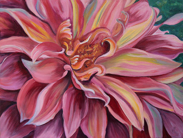 Painting - Generous Pink by Trina Teele