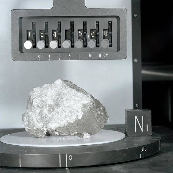 Genesis Photograph - Genesis Rock From The Moon by Nasa/science Photo Library