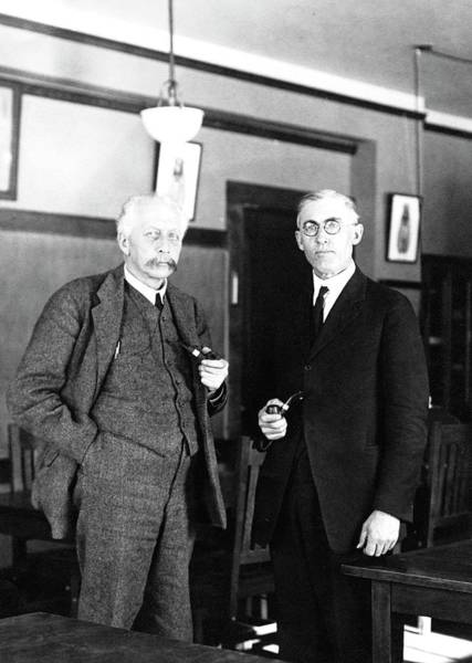 Inheritance Wall Art - Photograph - Geneticists Bateson And Emerson by American Philosophical Society