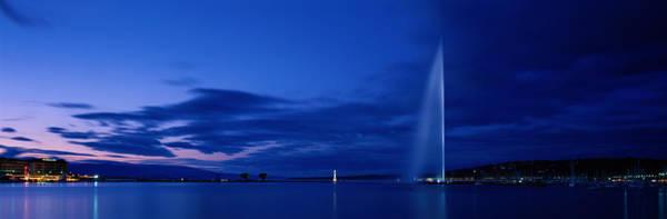 Lake Geneva Photograph - Geneva Switzerland by Panoramic Images