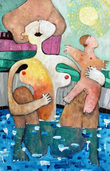 Motherhood Painting - Genitrix No. 4 by Mark M  Mellon