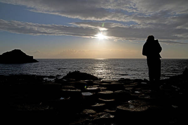Basalt Photograph - Genius In The Light -- Giant's Causeway -- Ireland by Betsy Knapp