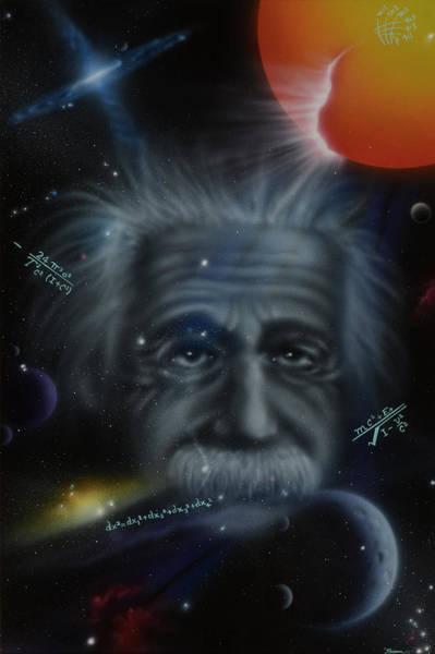 Painting - Genius by Sam Davis Johnson