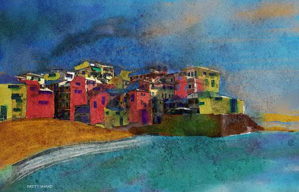 Digital Art - Genoa by Brett Shand
