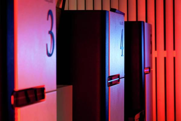 Wall Art - Photograph - Genome Sequencing Machines by Martin Krzywinski/science Photo Library