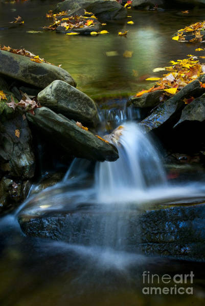 Photograph - Gentle Little Falls by Paul W Faust -  Impressions of Light
