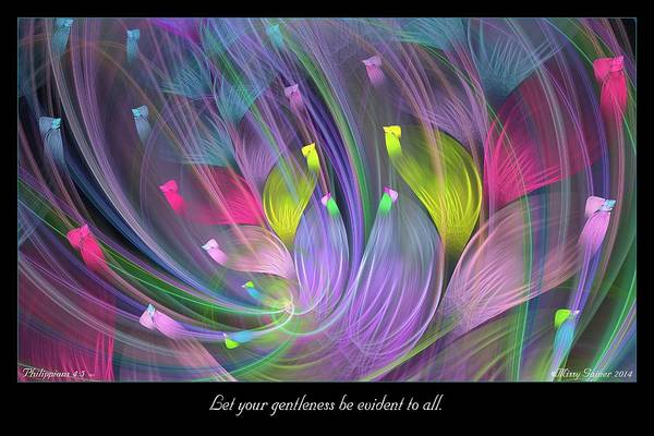 Digital Art - Gentleness by Missy Gainer