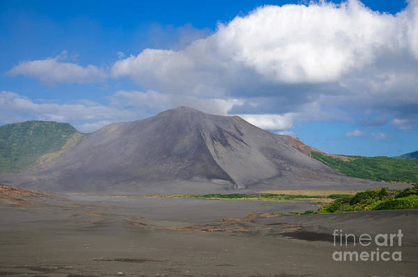 Photograph - Gently Smoking Volcano by David Hill
