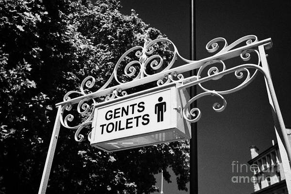 Toilet Photograph - gents victorian public toilets smithfield London England UK by Joe Fox