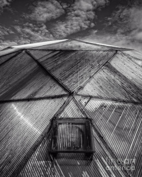 Photograph - Geodesic Dome by Edward Fielding