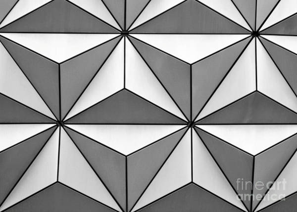 Photograph - Geodesic Pyramids by Sabrina L Ryan