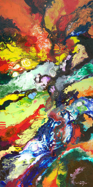 Painting - Geological Time by Sally Trace