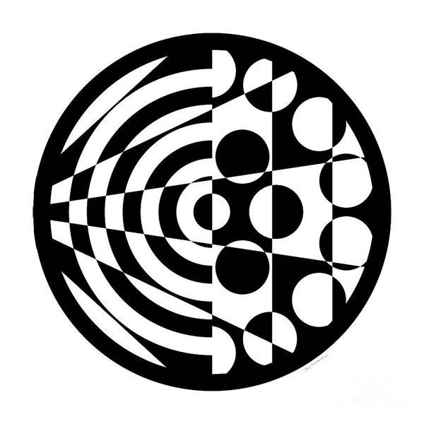 Digital Art - Geomentric Circle 1 by Amy Kirkpatrick