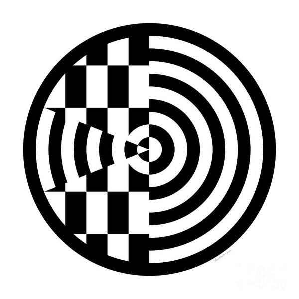 Digital Art - Geomentric Circle 3 by Amy Kirkpatrick