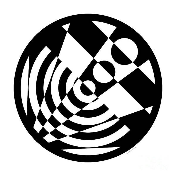 Digital Art - Geometric Circle 5 by Amy Kirkpatrick