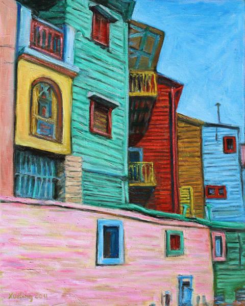 Geometric Colours II Art Print