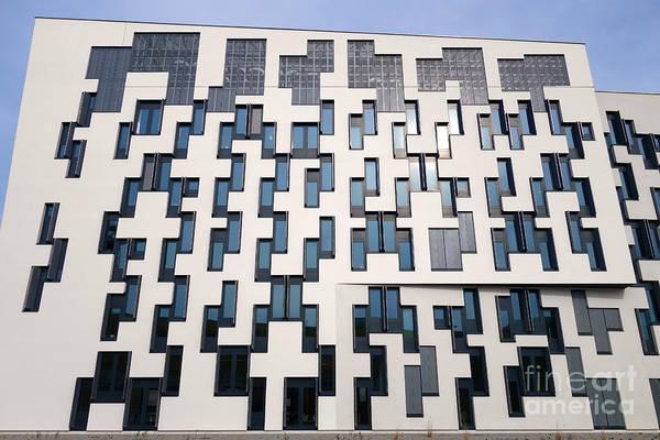 Photograph - Geometric Design Pinos Wu Campus Vienna by Menega Sabidussi