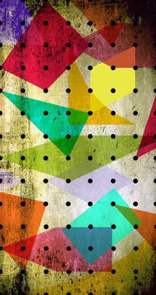 Geometric Painting - Geometric In Colors  by Mark Ashkenazi
