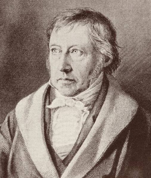 Theorist Wall Art - Drawing - Georg Hegel  by Anonymous
