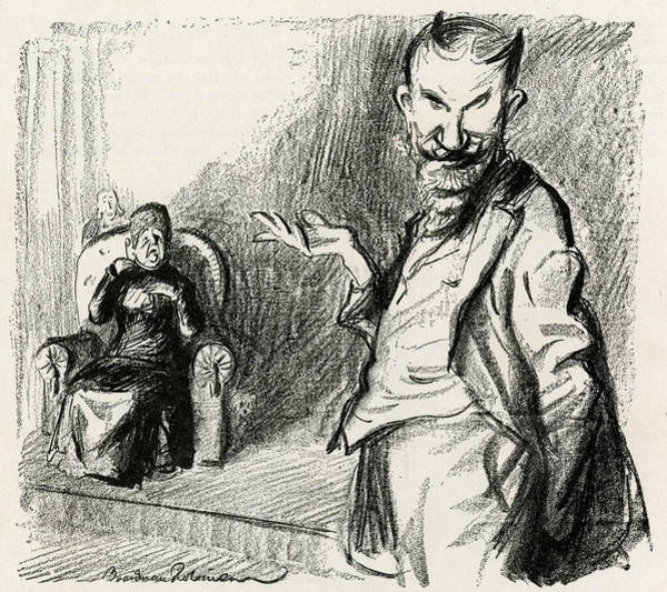 Devilish Drawing - George Bernhard Shaw (1856 - 1950) by Mary Evans Picture Library