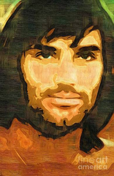 George Best Wall Art - Mixed Media - George Best by Tim Knowles