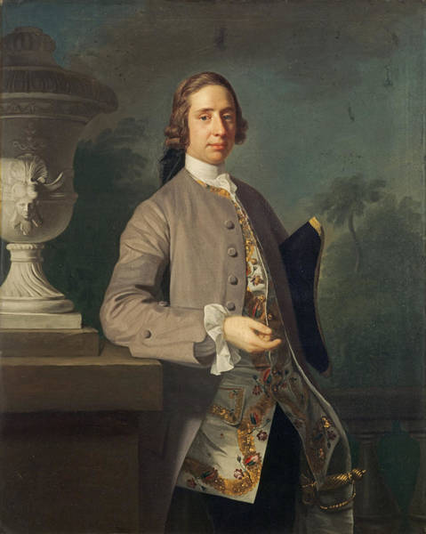 Urn Photograph - George Bristow, 1750 Oil On Canvas by Allan Ramsay