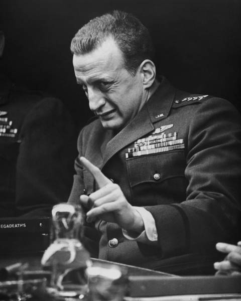 How Wall Art - Photograph - George C. Scott In Dr. Strangelove Or: How I Learned To Stop Worrying And Love The Bomb  by Silver Screen