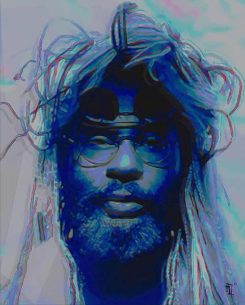 Sunglasses Painting - George Clinton by Fli Art