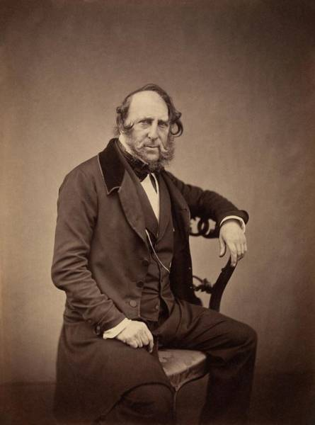 Wall Art - Photograph - George Cruikshank by Royal Institution Of Great Britain / Science Photo Library