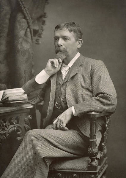 Wall Art - Photograph - George Du Maurier by Stanislaus Walery