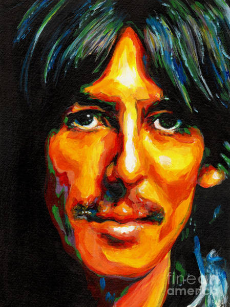 Painting - George Harrison by Tanya Filichkin