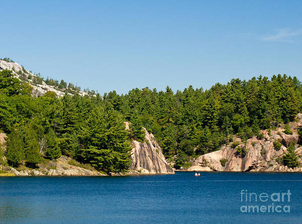 Photograph - George Lake In Killarney Ontario by Les Palenik