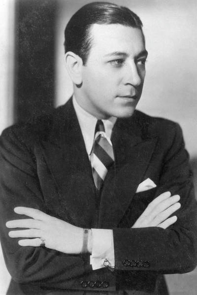 Wall Art - Photograph - George Raft, American Film Actor by Mary Evans Picture Library