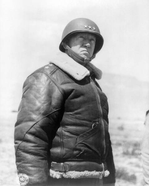 Wall Art - Photograph - George Smith Patton by Granger