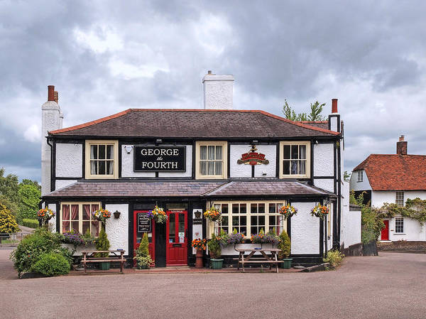 Photograph - George The Fourth Pub by Gill Billington