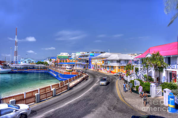 Photograph - George Town In The Cayman Islands by Dan Friend