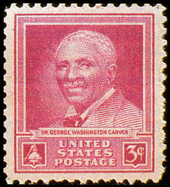 Stamp Collecting Photograph - George W. Carver, U.s. Postage Stamp by Science Source