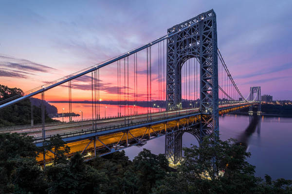 Photograph - George Washington Bridge by Mihai Andritoiu