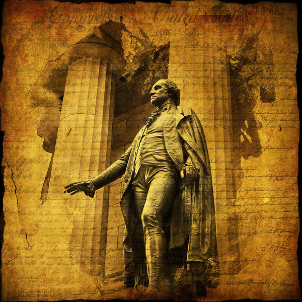 Photograph - George Washington by Evie Carrier