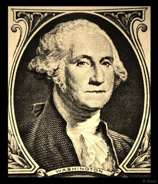 Wall Art - Photograph - George Washington In Sepia by Rob Hans