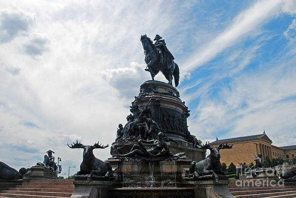 Photograph - George Washington Statue by Scott D Welch