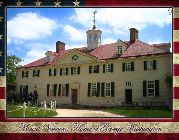 Photograph - George Washington's Mount Vernon by Anthony Jones