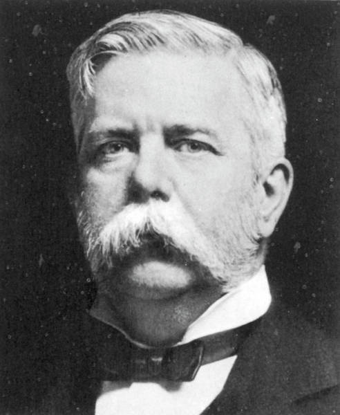 Photograph - George Westinghouse (1846-1914) by Granger